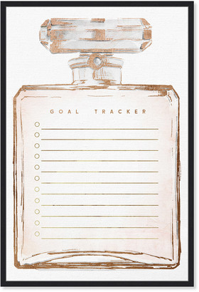Oliver Gal Perfume Dream Tracker Office Whiteboard Blush Dry Erase Board By The Artist Co.