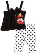 Children's Apparel Network Seasame Street 'Elmo Loves You' Tunic & Leggings - Infant