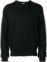 Saint Laurent fuzzy-knit sweater - men - Polyamide/Mohair/Wool - M