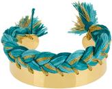 Aurelie Bidermann Copacabana gold-plated wide cuff