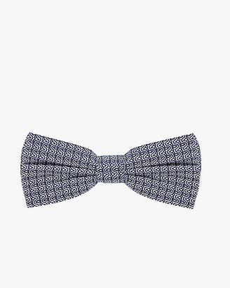 Le Château Geo Print Cotton Poplin Bow Tie