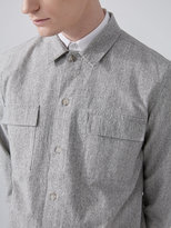 Frank + Oak Natural Chambray Overshirt