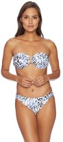 Luxe by Lisa Vogel Prowl Bandeau Bikini Top