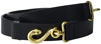 Rag & Bone Swinger Hip Belt (Black) Women's Belts