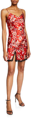 Cinq à Sept Avalyn Floral-Print Slip Dress