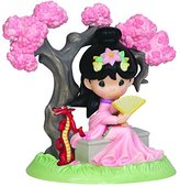 Precious Moments Disney Showcase Collection, A Blossom Is Never Too Late To Bloom, Bisque Porcelain Figurine, 143019