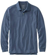 L.L. Bean Premium Double L Polo, Long-Sleeve Without Pocket