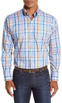 Peter Millar Eastsound Regular Fit Plaid Sport Shirt