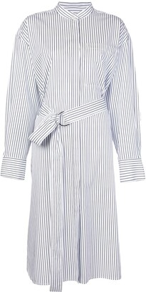 Jason Wu Striped Poplin Shirt Dress