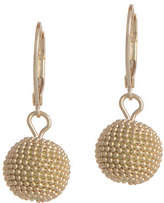 Anne Klein Leverback Ball Drop Earring