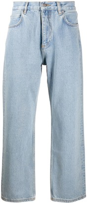 Rassvet light wash loose straight cut jeans