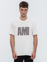 Ami Patched Letters S/S T-Shirt
