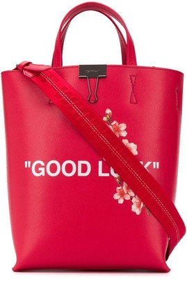 Off-White Lunar New Year print tote