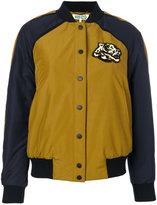 Kenzo Tiger bomber jacket - women - Cotton/Acrylic/Polyamide/Polyester - M