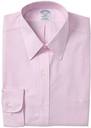 Brooks Brothers Regent Fit Solid Dobby Dress Shirt