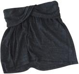 Isabel Marant Wool mini skirt