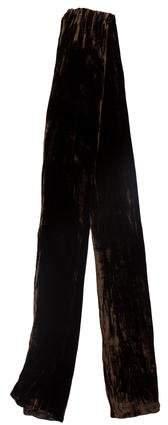 John Varvatos Velvet Silk Scarf w/ Tags