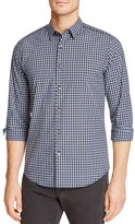Theory Benner Trimont Check Slim Fit Button-Down Shirt
