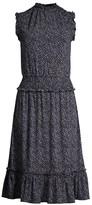 MICHAEL Michael Kors Boutique Blooms Smocked Dress