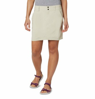 Columbia Women's Saturday Trail Skort Stain Resistant Sun Protection