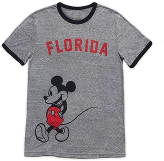 Disney Mickey Mouse Ringer T-Shirt for Adults Florida