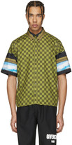 Givenchy Multicolor Check and Waves Shirt