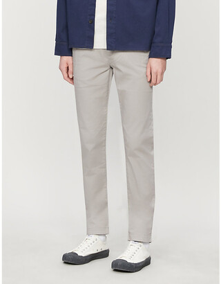 Ted Baker Slim-fit stretch-cotton trousers