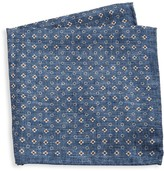 Saks Fifth Avenue Silk Floral & Polka Dot Pocket Square