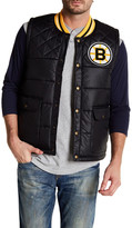 Mitchell & Ness NHL Bruins Snap Button Vest