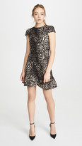 Alice + Olivia Kirby Ruffle Short Sleeve Dress