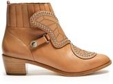 Sophia Webster Karina leather ankle boots
