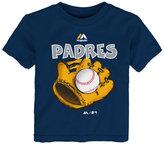 Majestic Babies' San Diego Padres Baseball Mitt T-Shirt