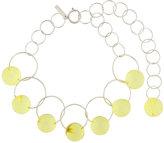 Marni Interlocking hoop necklace