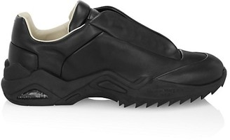 Maison Margiela New Future Leather Low-Top Sneakers