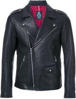 GUILD PRIME zipped biker jacket