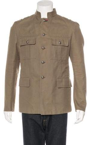 Gucci Canvas Military Jacket