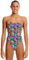 Funkita Girls Stacked Up Single Strap One Piece