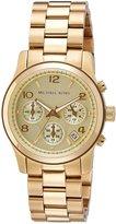 Michael Kors Women's MK5055 Runway -Tone Watch