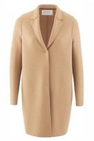 Harris Wharf London Tan Cocoon Coat - 8