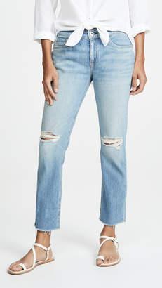 Rag & Bone JEAN Dre Low Rise Ankle Slim Boyfriend Jeans