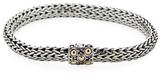 John Hardy Dot Gold & Silver Woven Chain Bracelet