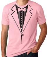 Threaded Tees Men's Tuxedo Shirt T-Shirt XLarge