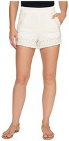 Blank NYC Embroidered Shorts in Snow Flake Women's Shorts