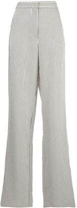 Proenza Schouler White Label Stripe Pajama-Style Trousers