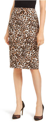 INC International Concepts Inc Animal-Print Scuba Skirt