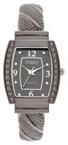 Studio Time Women's Studio Time® Bangle Watch - Gray