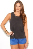 Cotton Citizen Sleeveless Tee in Black