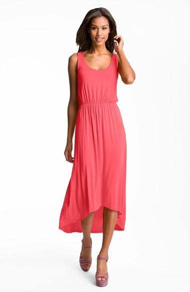 Nordstrom FELICITY & COCO High/Low Hem Jersey Tank Dress Exclusive)