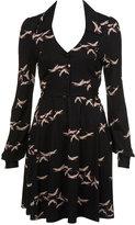 Printed Jersey Tea Dress