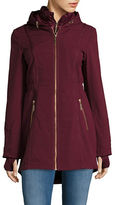 Betsey Johnson Lightweight Zip-Front Walker Jacket
